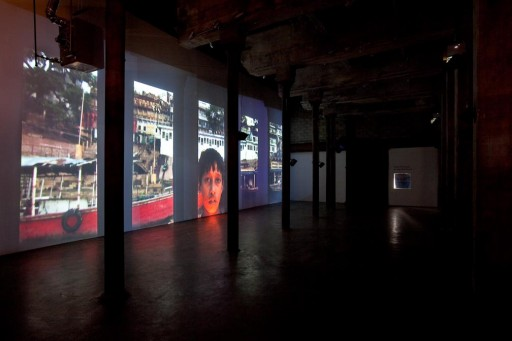 Installation view, photo by Etienne Frossard