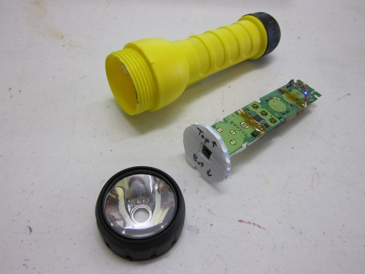 Wii-based flashlight controller